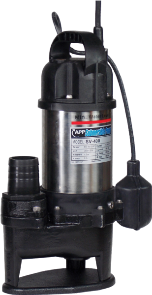 SV-400A Automatic Submersible Drainage & Sewage Pump 230V